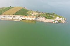 Ariel view of Somashila Reservoir