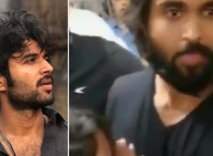 Vijay Deverakonda's fan breaks down on seeing him, his reaction has the internet in love. Watch video
