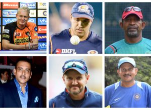 Six in race for India's head coach post