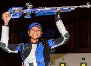 Elavenil shoots to gold in Rio World Cup
