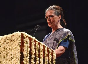 Sonia Gandhi appointed Congress interim President