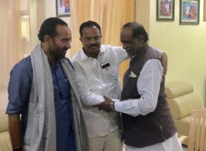 After G Vivek, another senior Dalit politician from TS to join BJP
