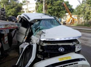 Telangana youth congress leader dies in an accident