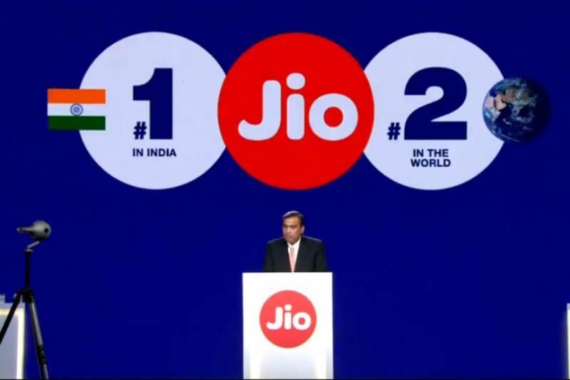 Reliance AGM 2019: Mukesh Ambani Announces Jio Fiber Launch, Jio-Microsoft Cloud Partnership and $75 Billion Deal With Saudi Aramco