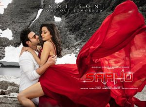 Saaho Makers release another song starring Prabhas and Shraddha in 4 different languages