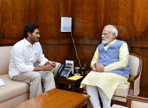YS Jagan seeks financial help from PM