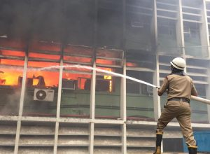 AIIMS building on fire had no 'NOC'