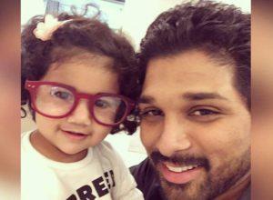 Allu Arjun's daughter Allu Arha says 'fasak'