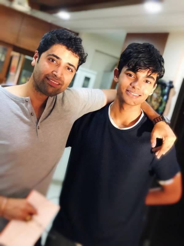 Pawan Kalyan's eldest son Akira Nandan meets Adivi Sesh