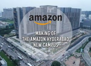 Amazon opens its largest office building in Hyderabad