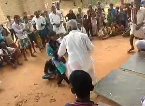 Anantapur: Villagers turn spectators to minors being thrashed for eloping