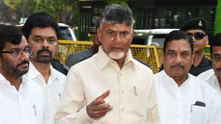 Krishna floods are artificially created: Chandrababu Naidu