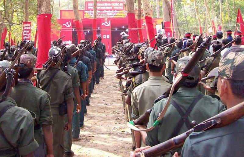 Andhra Pradesh 6th among the 10 most Maoist affected states in India