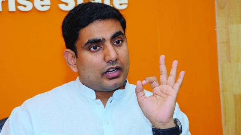 Nara Lokesh reveals family assets, Naidu's wife tops with total assets worth Rs 50 crore