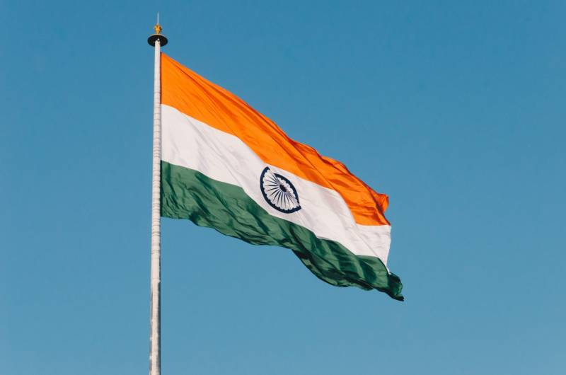 India's largest flag unfurled with LED tech