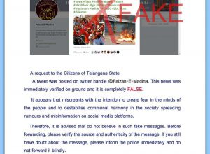 Telangana: DGP Asked to Delete a Tweet Suspected From Pakistan