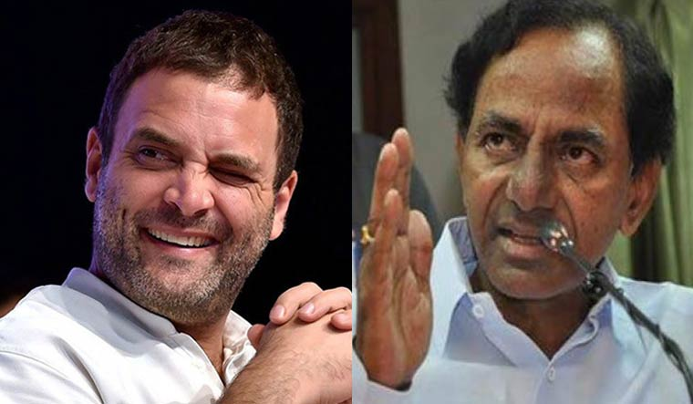 TRS, Congress in the grip of 'Power' politics
