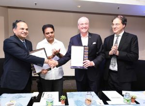 Telangana, New Jersey in 'Sister State Partnership' pact