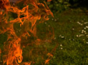 Man thrown into woman's burning pyre, over suspicion that he did black magic against her