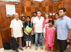 France couple gives new home to abandoned 8-year-old girl Pushpa