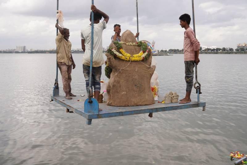 No pandals, no mass gatherings: COVID dampens Ganesh Utsav celebrations in Hyderabad