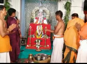 Bhosi villagers worship a wooden statue of lord of obstacles for the past 56 years