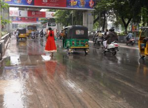 Why Telangana received 72% excess rain in October?