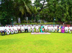 KCR's new team: Harish Rao, KTR , Sabita, Puvvada, Gangula, Satyavati inducted
