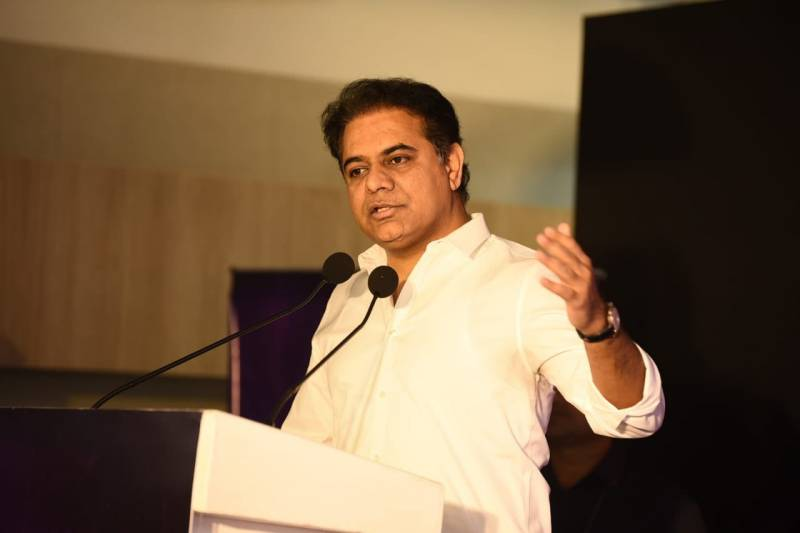 KTR demands immediate action on Prajay Megapolis issue
