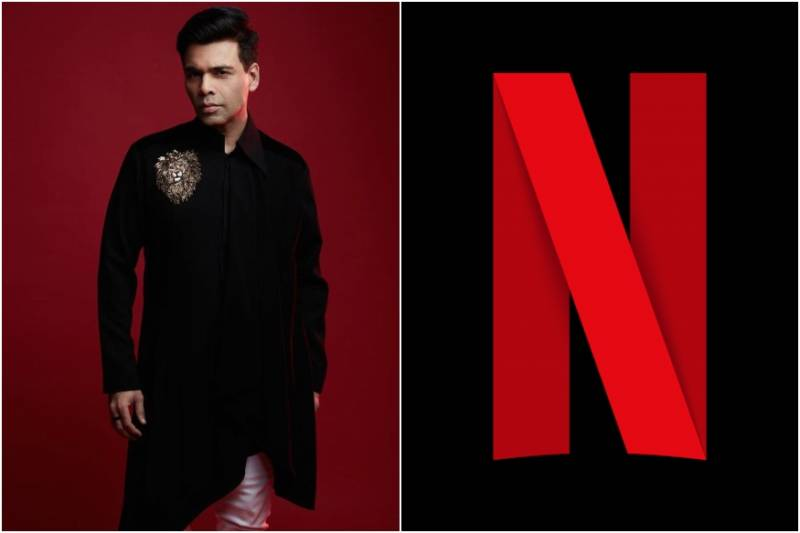 Karan Johar announces new long-term partnership with Netflix