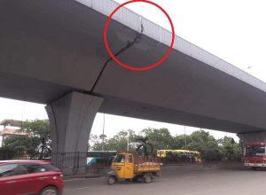 Fact Check: Cracks found on PV Narasimha Rao Expressway, Hyderabad