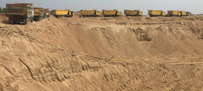 AP: 10 IPS officers posted in SEB to take on sand mafia