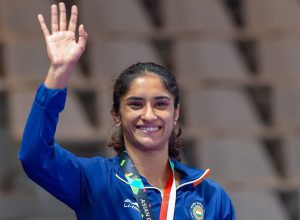 Phogat wrestles place in Tokyo Olympics 2020