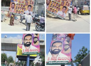 GHMC wakes up after Chennai techie's death: Launches special drive against illegal banners