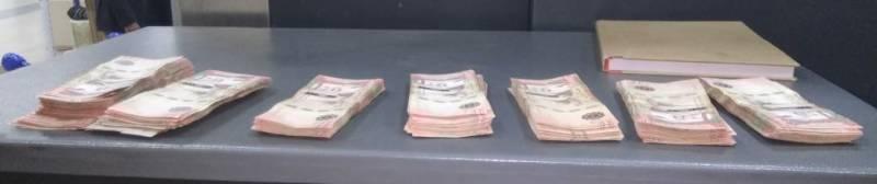 45,000 Saudi Riyal seized from Hyderabad man at RGI airport