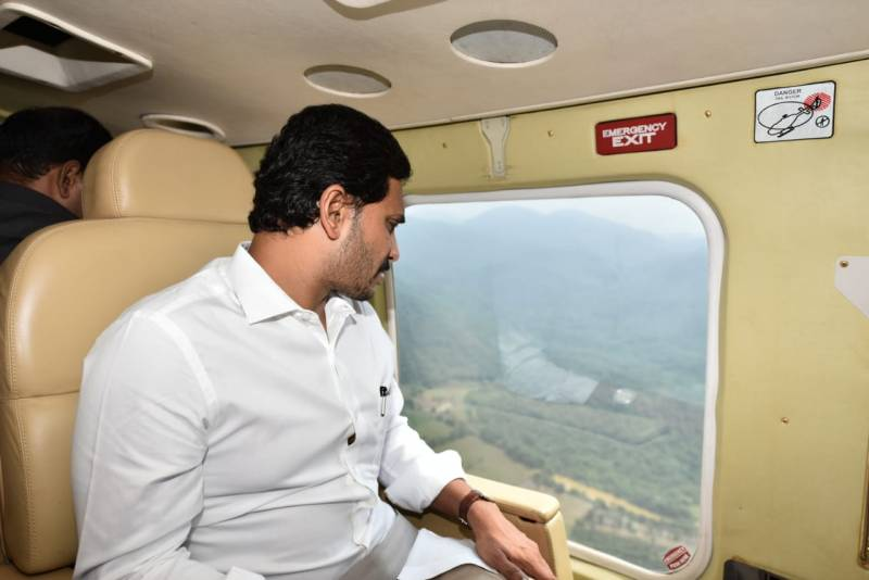 Jagan visits East Godavari; CM's first interaction with media today