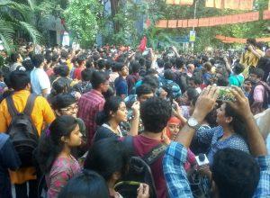 Protesting students heckle Babul Supriyo at JU causing concern for Governor