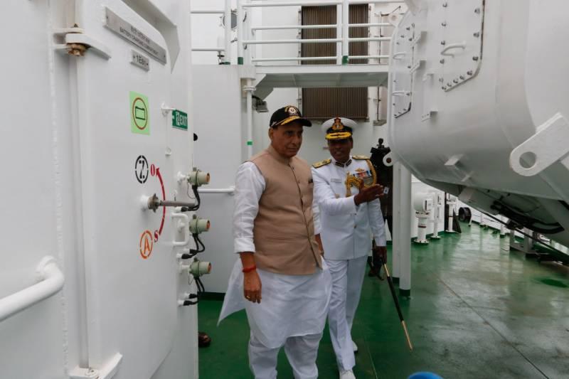 Defence Minister Rajnath Singh