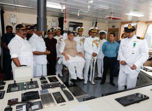 Defence Minister commissions ICGS – Varaha