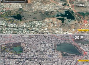 Here is how flood water invaded Hyderabad; Satellite images tell the story