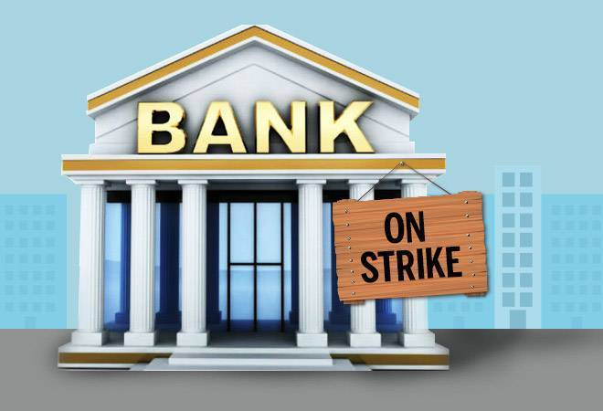 Trade Unions strike closes banks for four days