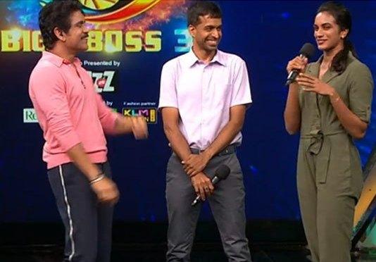 PV Sindhu lightens up Telugu Bigg Boss 3