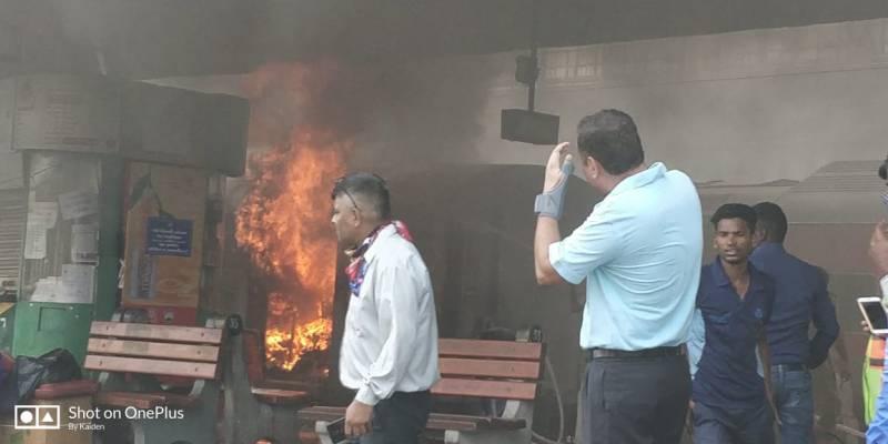 Fire in Kochuvalli Express, no casualties