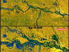 Sentinel-1 Imagery reveals how Ganga has fallen and flooded Patna