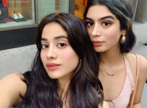 Janhvi Kapoor spends quality time with sister and father at New York