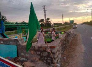 Hyderabad-Bhongir Highway: Activists oppose religious structure