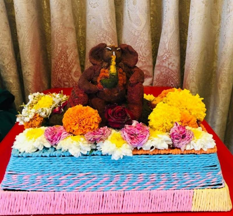 Fishes set to have a blast with fish food Ganesh idols