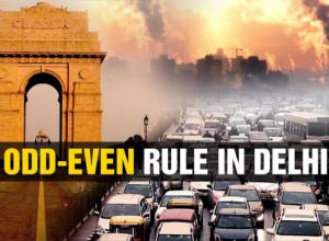 Odd-Even rule kick-starts in gasping Delhi