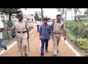 Prisoner with police escort attends AP Grama Sachivalayam exams