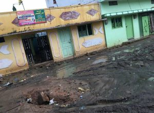 No road to walk, Madrasa in Vattepally closed for five days